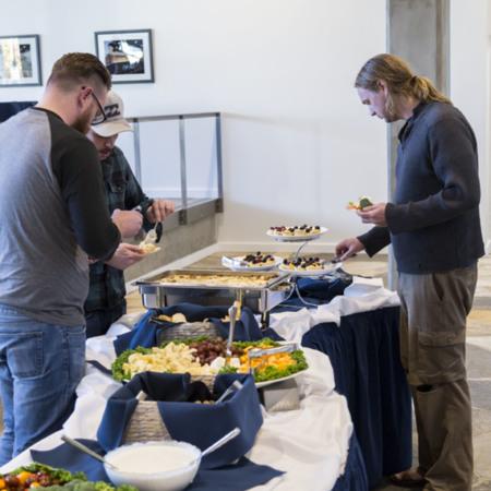 Concatenation Food Display