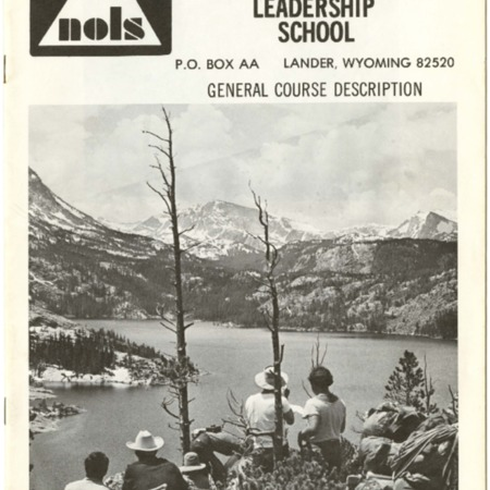 National Outdoor Leadership School, 1973