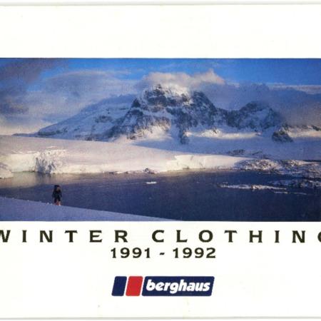 Berghaus, Winter Clothing, 1991-1992