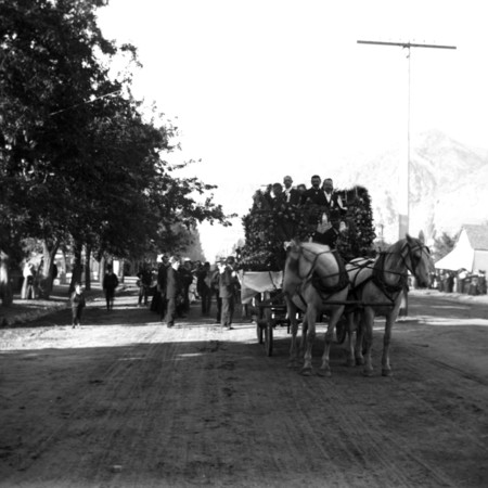 Funeral procession for Lorenzo Snow