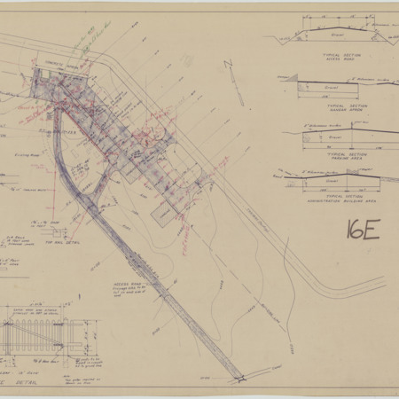 Logan-Cache Airport Grading and Surfacing Plan, 1947