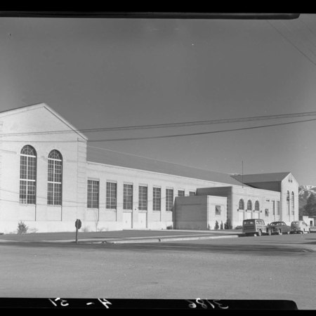 Exterior of the Field House (2 of 2), 1951