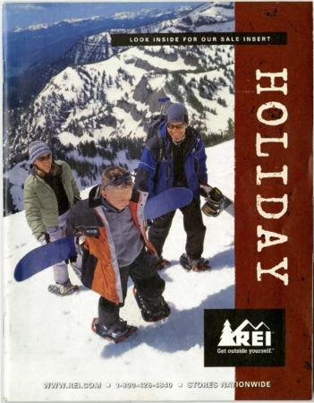 Recreational Equipment, Inc., Holiday 2002