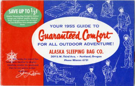 Alaska Sleeping Bag Company, 1955