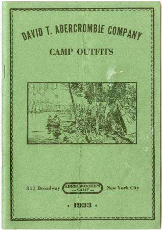 Abercrombie's Camp/David T. Abercrombie Company, 1933