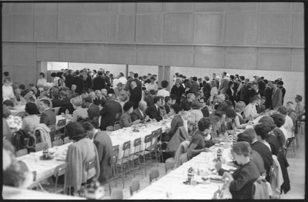 Alumni homecoming banquet, 1965