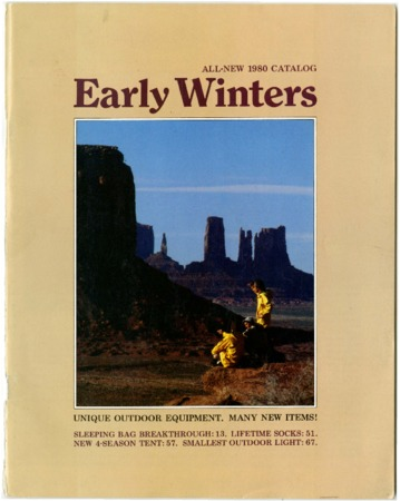 Early Winters, All New 1980 Catalog
