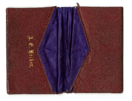 The Wallet of Albert E. Becker, c. 1920