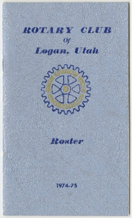 Rotary Club of Logan, Utah Roster, 1974-75