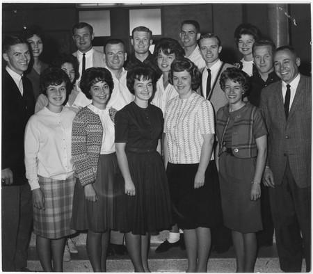 Homecoming committee, 1963