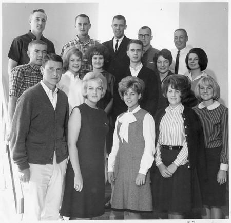 Homecoming committee, 1964