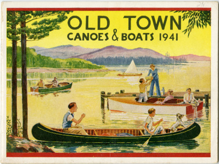 Old Town Canoe, 1941
