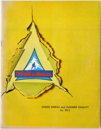 Holubar Mountaineering Ltd., Spring and Summer 1974