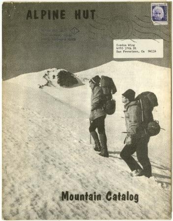 Alpine Hut, Mountain Catalog