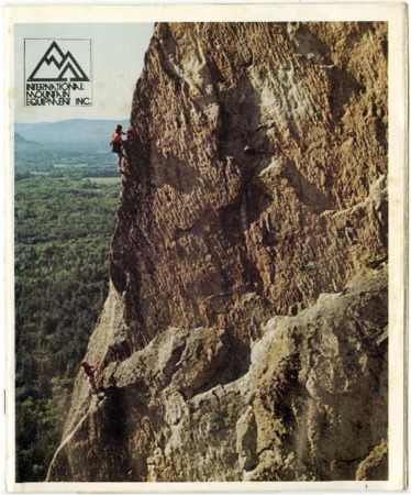 International Mountain Equipment Inc., rock climbing, undated