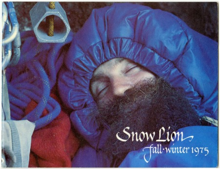 Snow Lion, Fall/Winter 1975