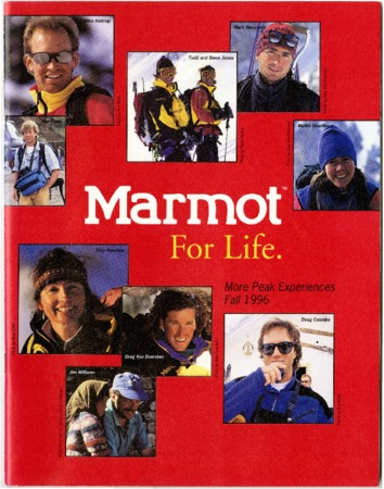 Marmot Mountain Works, Fall 1996