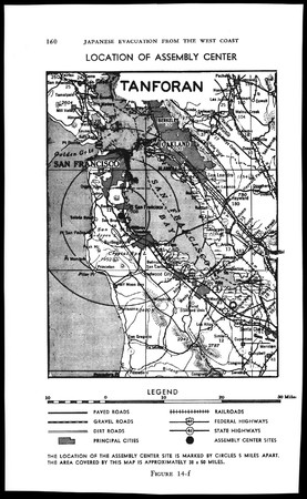 Map of Tanforan