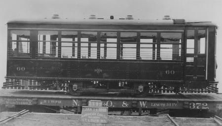 U.I.C. Engine #60 Being Delivered to Ogden, Utah in 1919<br />