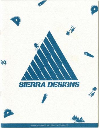 Sierra Designs, Spring/Summer 1987