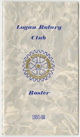 Logan Rotary Club Roster, 1957-58