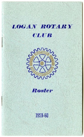 Logan Rotary Club Roster, 1959-60