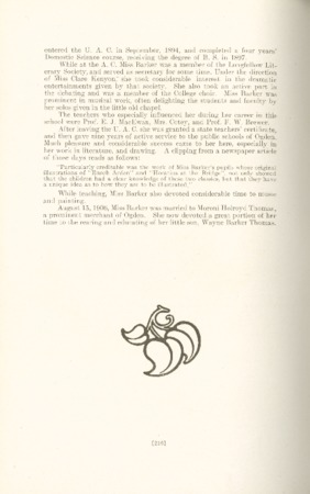 1909 A.C.U. Graduate Yearbook, Page 216