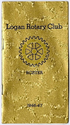 Logan Rotary Club Roster, 1946-47
