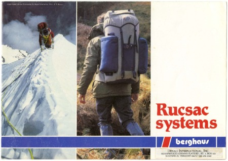 Berghaus, Rucsac Systems