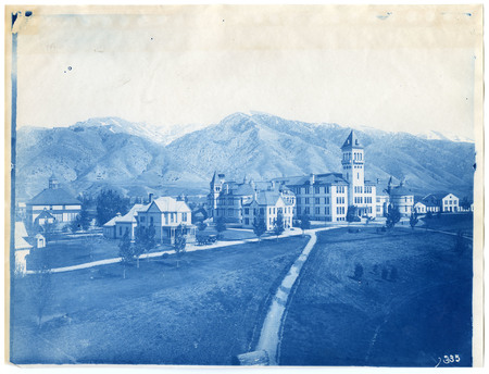 1896-1916 Agricultural College of Utah Cyanotype 1<br />