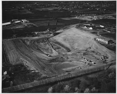 New Romney Stadium under construction