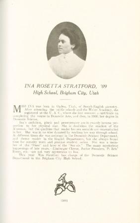 1909 A.C.U. Graduate Yearbook, Page 209