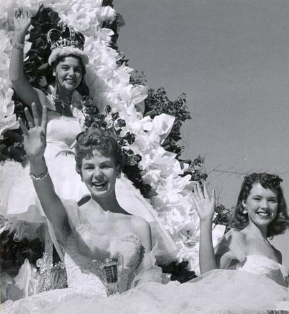 Homecoming royalty, 1955-1956