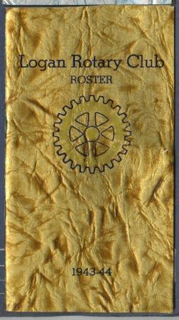 Logan Rotary Membership Roster, 1943-44