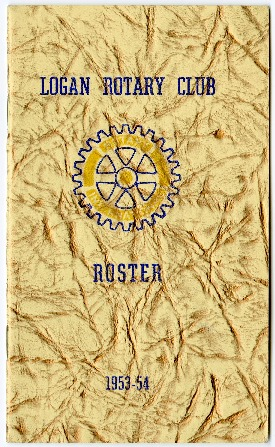 Logan Rotary Club Roster, 1953-54