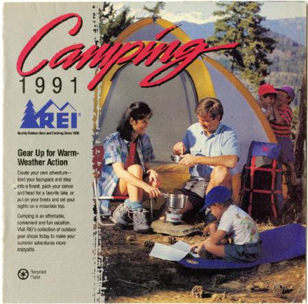 Recreational Equipment Inc., Camping 1991