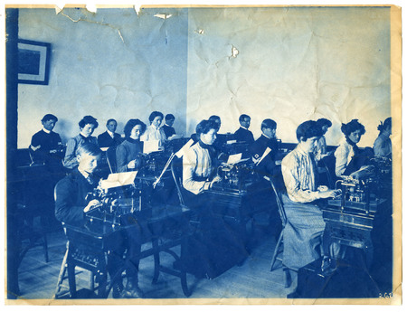 1896-1916 Agricultural College of Utah Cyanotype 12