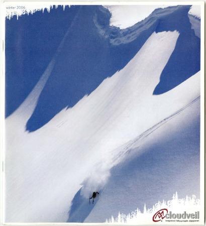 Cloudveil, skier, 2006