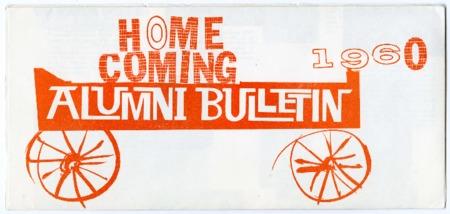 Homecoming alumni bulletin, 1960