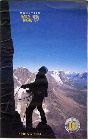Mountain Hardwear, Spring 2004