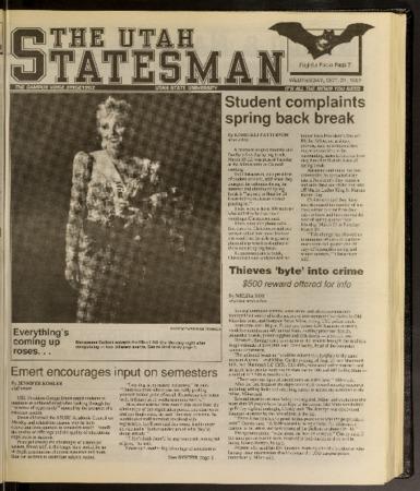 Statesman newspaper 1992-10-21