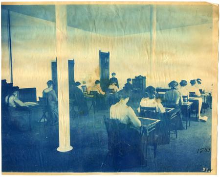 1896-1916 Agricultural College of Utah Cyanotype 29