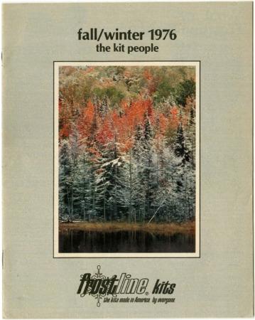 Frostline Kits, Fall/Winter 1976