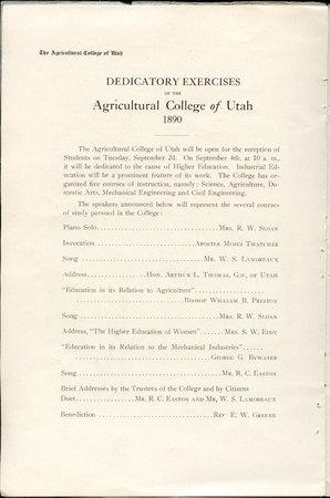 1908 UAC Commencement Program Page 12