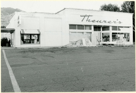 Theurer's Grocery Store, Providence, 1978<br />