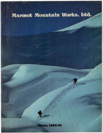 Marmot Mountain Works, Winter 1980-1981