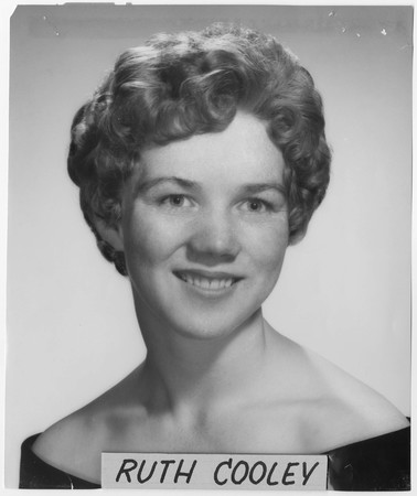 Ruth Cooley, 1959 homecoming queen contestant