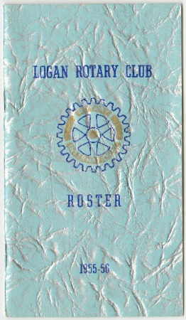 Logan Rotary Club Roster, 1955-56