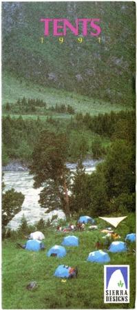 Sierra Designs, Tents, 1991