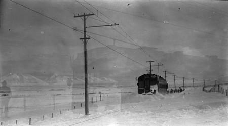 A U.I.C. Train in the Snow<br />